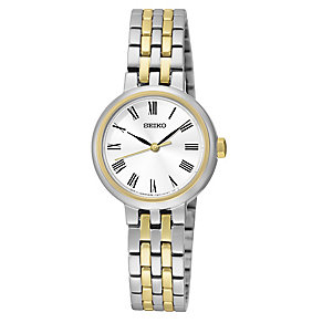Seiko Ladies' Two Colour Stainless Steel Bracelet Watch - Product number 4410882