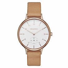 Skagen Anita Ladies' Rose Gold Tone Strap Watch - Product number 4411064