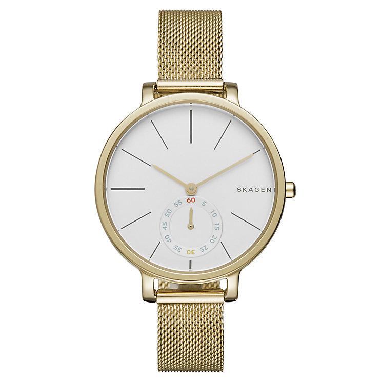 Skagen Hagen Ladies' Gold Tone Bracelet Watch - Product number 4412060