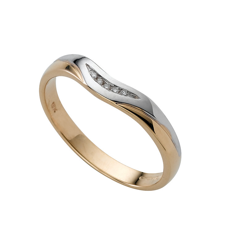 18ct gold diamond wedding ring - Product number 4412508