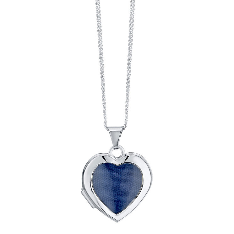 Sterling Silver Heart Window Locket - Product number 4417151
