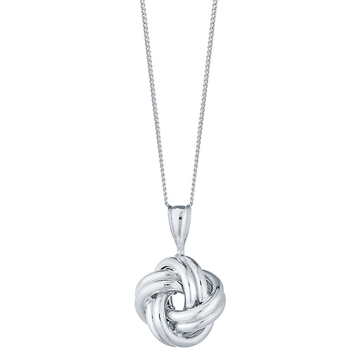 Sterling Silver Knot Pendant - Product number 4417798