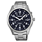 Seiko Kinetic Men's Blue Dial Stainless Steel Bracelet Watch - Product number 4417925
