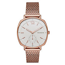 Skagen Rungsted Ladies' Rose Gold Tone Bracelet Watch - Product number 4417984