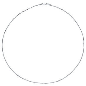 "Sterling Silver 28"" Sparkle Chain Necklace - Product number 4419332"
