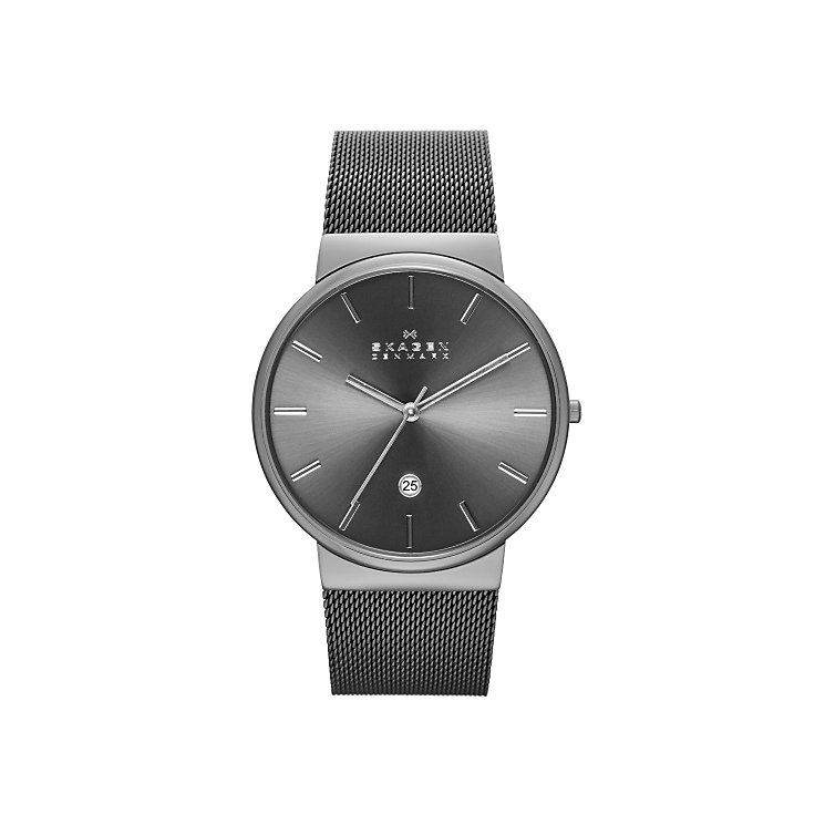 Skagen Ancher Men's Ion Plated Bracelet Watch - Product number 4421787