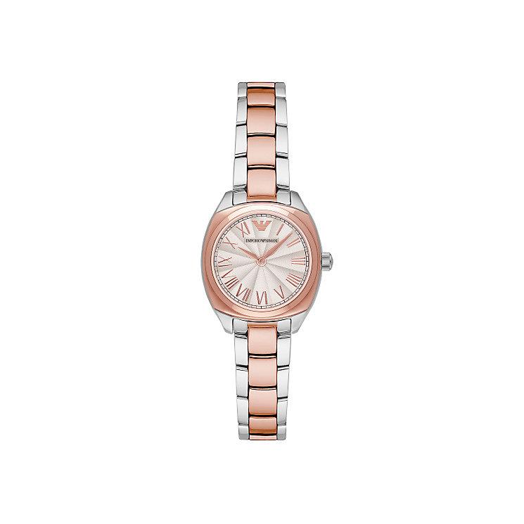 Emporio Armani Ladies' Two Colour Bracelet Watch - Product number 4422996