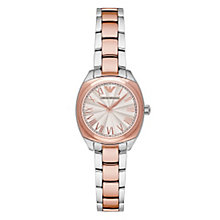 Emporio Armani Ladies' Two Colour Bracelet Watch - Product number 4422996