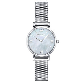 Emporio Armani Ladies' Stainless Steel Bracelet Watch - Product number 4424026