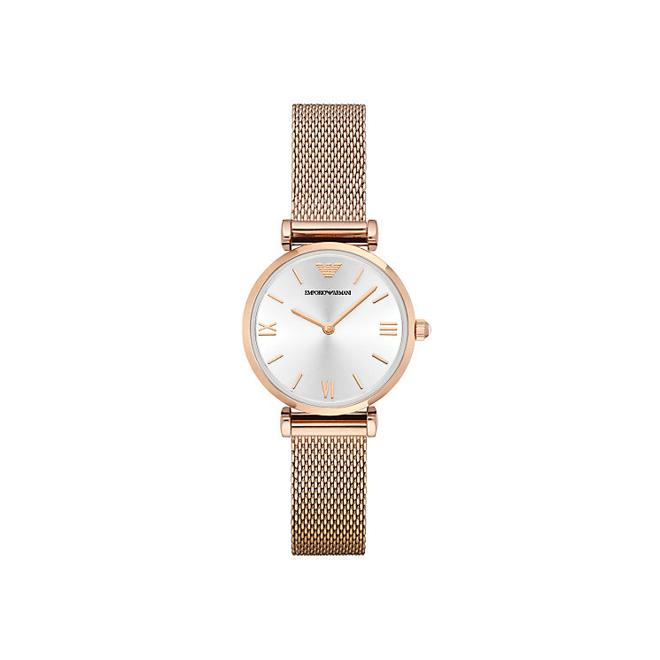 Emporio Armani Ladies' Rose Gold Tone Bracelet Watch - Product number 4424093