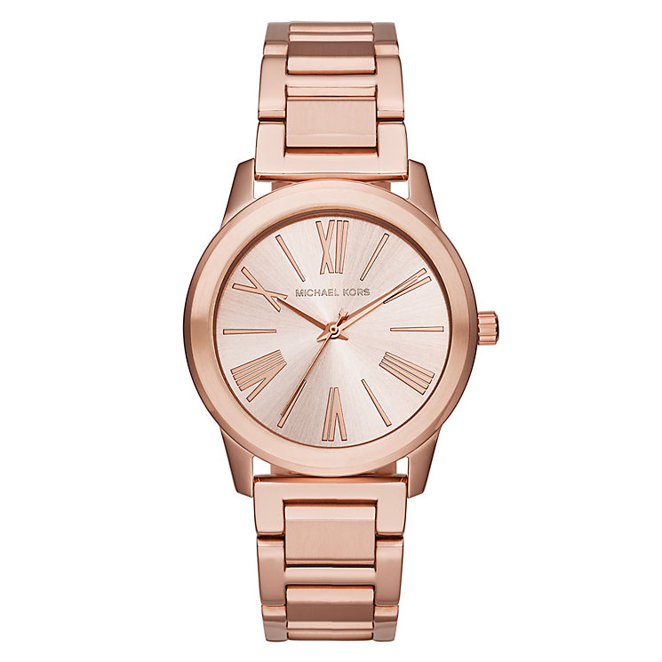 Michael Kors Ladies' Rose Gold Tone Bracelet Watch - Product number 4424247