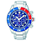 Seiko Solar Men's Diver's Stainless Steel Bracelet Watch - Product number 4424263