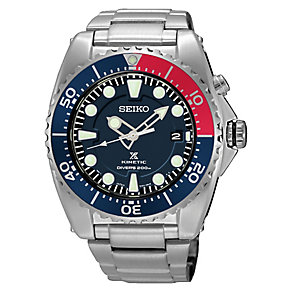 Seiko Prospex Kinetic Men's Stainless Steel Bracelet Watch - Product number 4424298