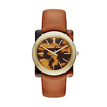 Michael Kors Ladies' Tortoise acetate Strap Watch - Product number 4424409