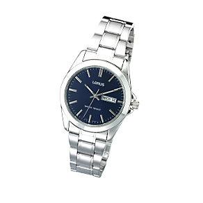 Lorus Men's Navy Blue Dial Bracelet Watch - Product number 4425871