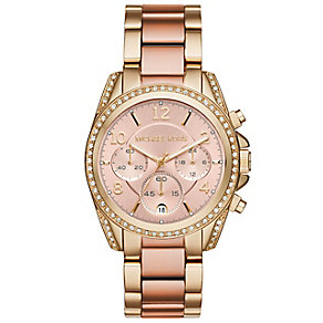 Michael Kors Blair Ladies' Gold Tone Bracelet Watch - Product number 4435990