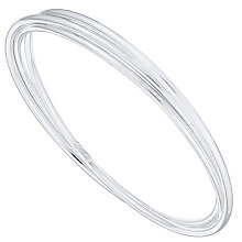 Sterling Silver Trio Bangle Set - Product number 4437233