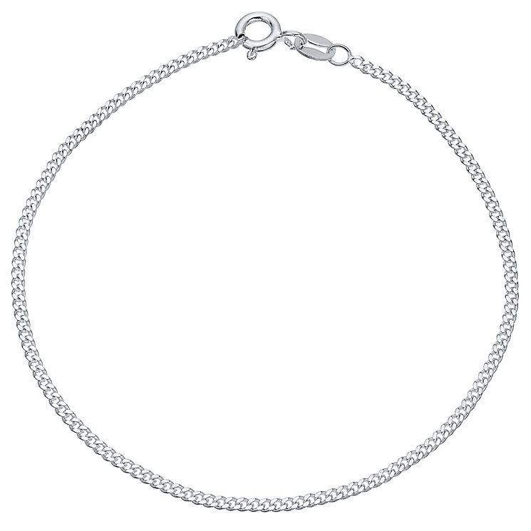 """Sterling Silver 50 Gauge 7.5"""" Curb Bracelet - Product number 4437241"""