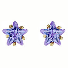 Gold Cubic Zirconia Earrings - Product number 4449290