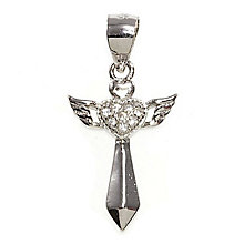Cailin Confirmation & Communion Winged Cross Pendant - Product number 4457439