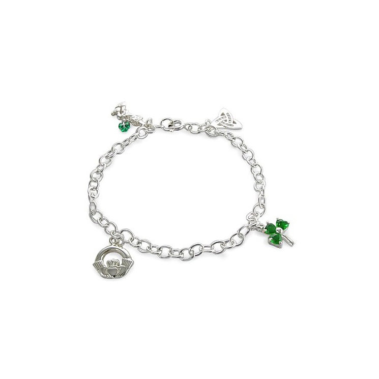 Cailin Sterling Silver Charm Bracelet - Product number 4457447
