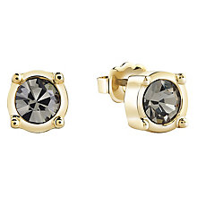 Guess Gold-Plated Single Stone Stud Earrings - Product number 4461193