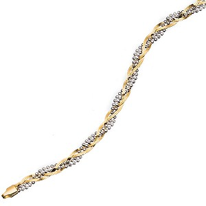 9ct Gold Bracelet - Product number 4466365