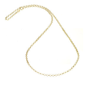 "9ct Yellow Gold 18"" Belcher Chain - Product number 4467272"