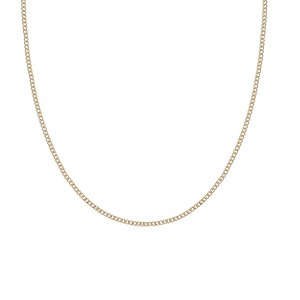 9ct Yellow Gold Curb Necklace
