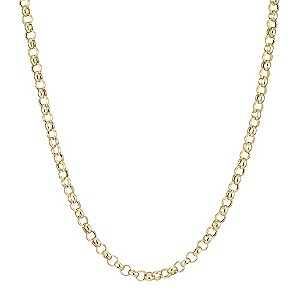 9ct Gold Belcher Necklace 20