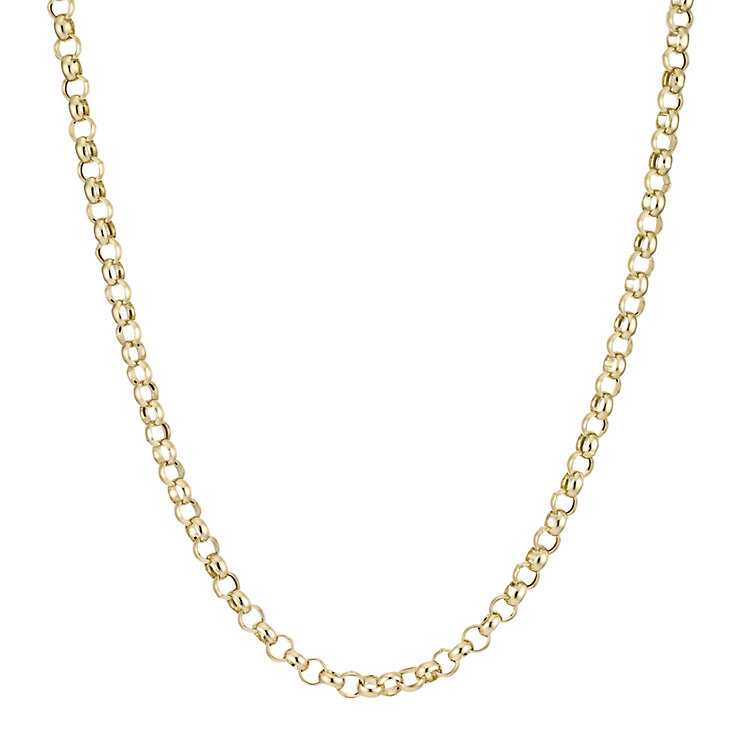 "Gold Belcher Necklace 20"""" - Product number 4468538"