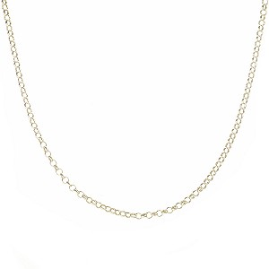 9ct Gold Belcher Chain Necklace
