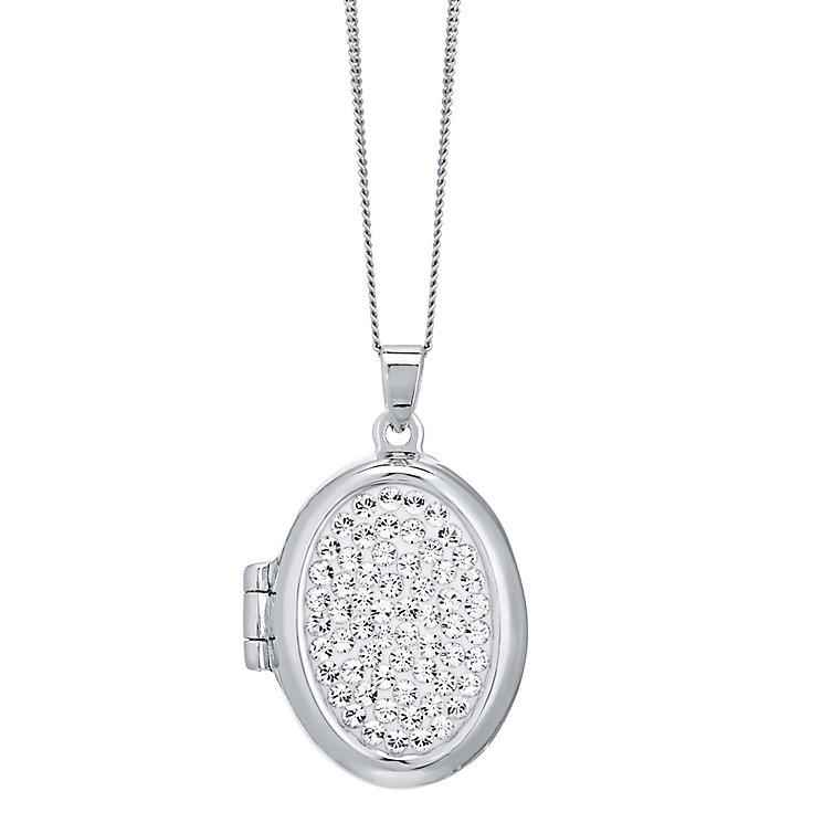 Evoke Silver Crystal Locket - Product number 4475860