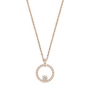 Swarovski Creativity Rose Gold Plated Circle Pendant - Product number 4476522