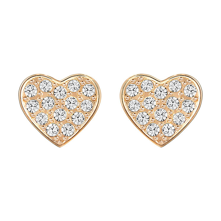Swarovski Cupid Rose Gold Plated Earrings - Product number 4476891