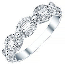 18ct White Gold 0.44ct Diamond Ring - Product number 4476921