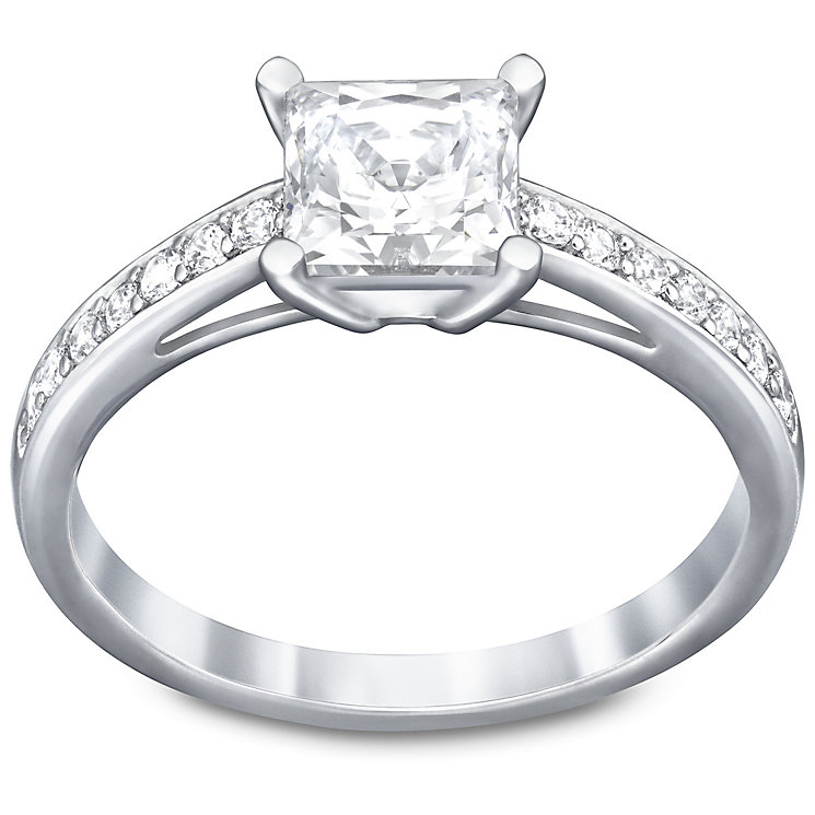 Swarovski Attract Square Ring Size N - Product number 4477731