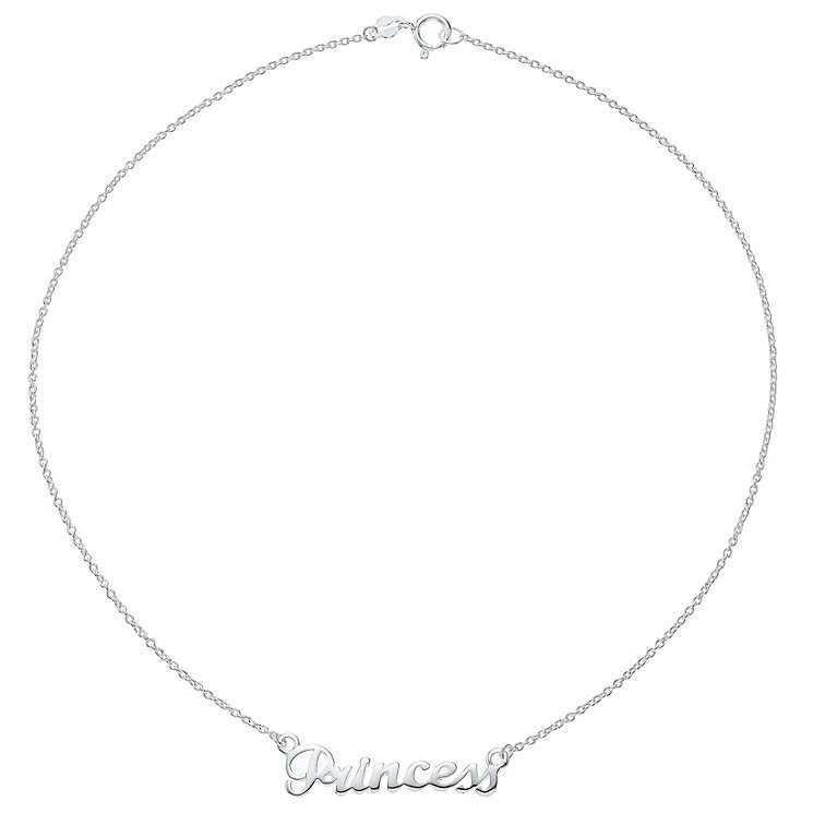Kids Sterling Silver Princess Necklace - Product number 4483251
