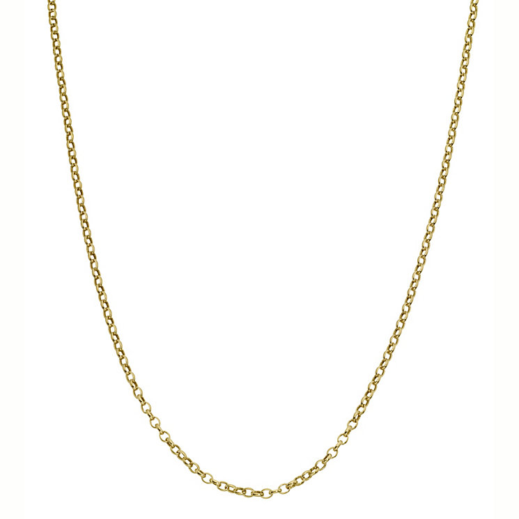 9ct Gold Belcher Chain - Product number 4486005