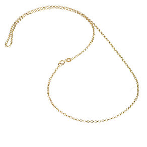 "9ct Yellow 20"" Gold Belcher Necklace - Product number 4486013"