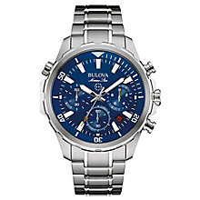Bulova Marine Star Men's Stainless Steel Bracelet Watch - Product number 4488326