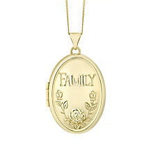 9ct Yellow Gold Family Locket - Product number 4488350