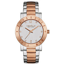 Caravelle New York Ladies' Stainless Steel Bracelet Watch - Product number 4488814