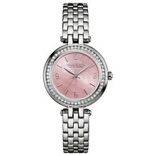 Caravelle New York Ladies' Stainless Steel Bracelet Watch - Product number 4488822