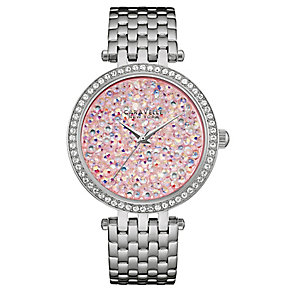 Caravelle New York Ladies' Stainless Steel Bracelet Watch - Product number 4488946