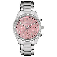 Caravelle New York Ladies' Stainless Steel Bracelet Watch - Product number 4488954