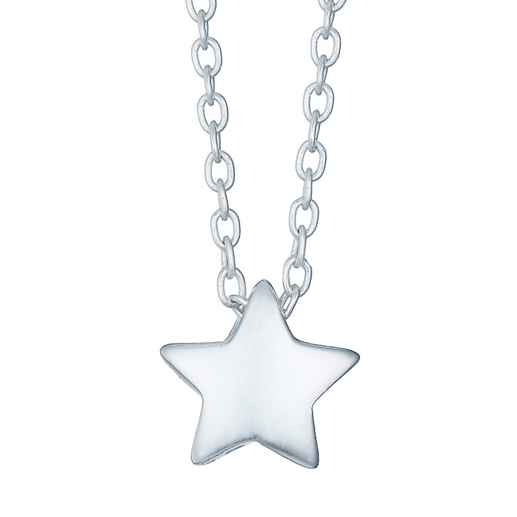 Children's Sterling Silver Star Pendant - Product number 4489977