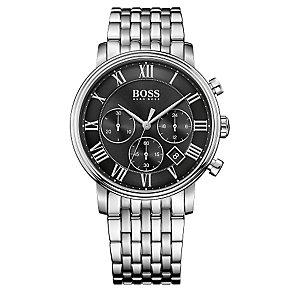 Hugo Boss Chronograph Men's Stainless Steel Bracelet Watch - Product number 4492021