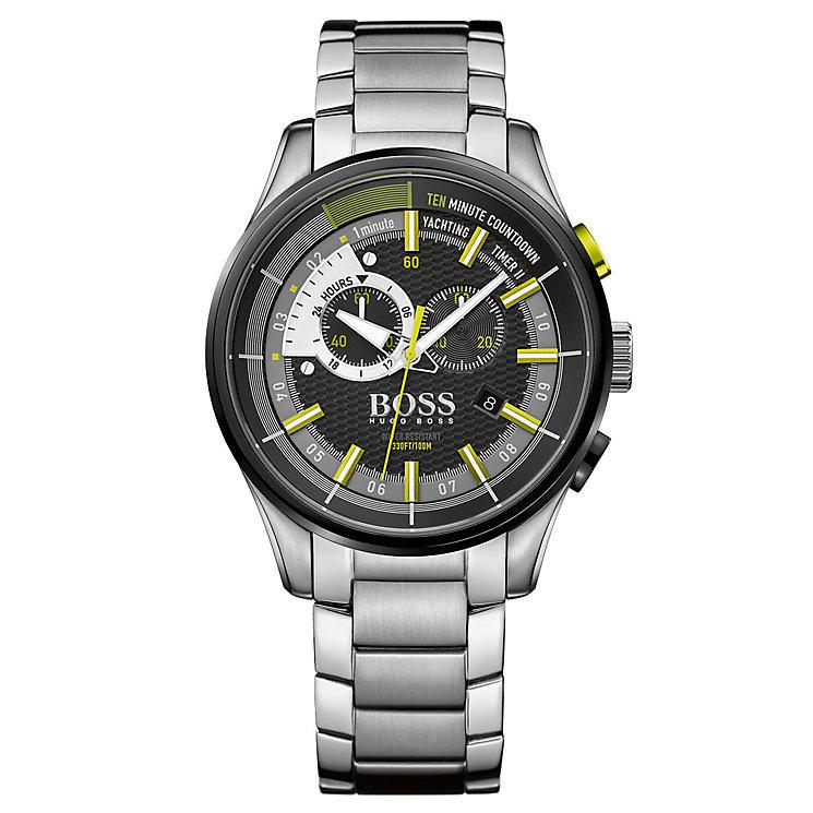Hugo Boss Regatta Men's Stainless Steel Bracelet Watch - Product number 4492153