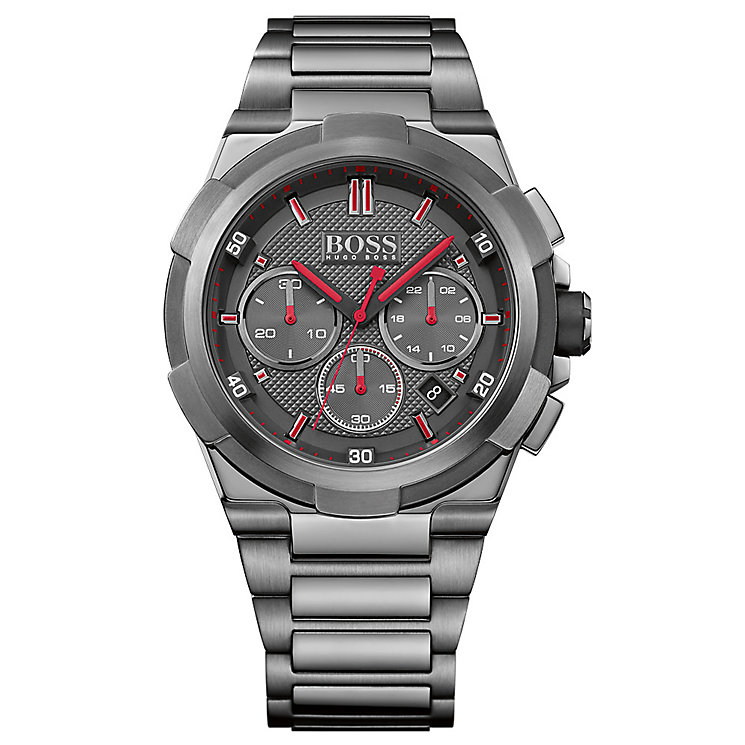 Hugo Boss Men'S Ion Plated Bracelet Watch - Product number 4492285